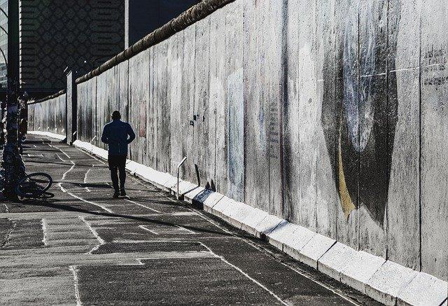 De muur Berlijn