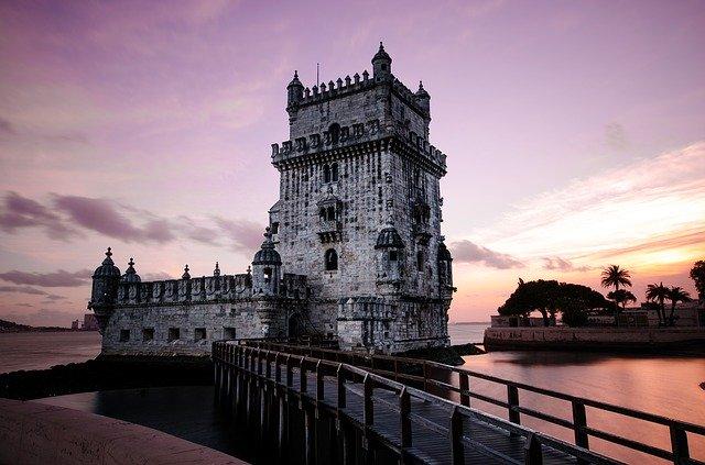 Het kasteel van São Jorge