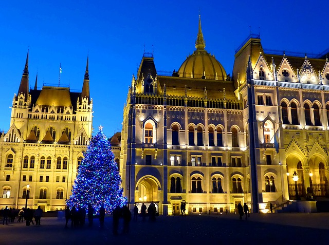 Vorosmarty-plein kerstbezoek boedapest